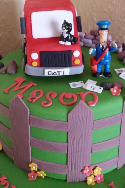 Postman Pat Custom Cake Southampton