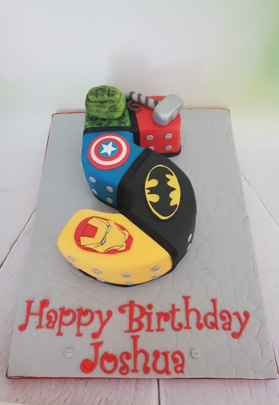 Marvel Avengers Custom Cake Southampton