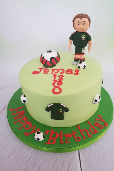 Football Custom Cake Southampton