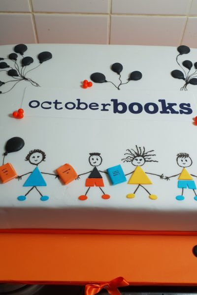 October Books Custom Cake Southampton