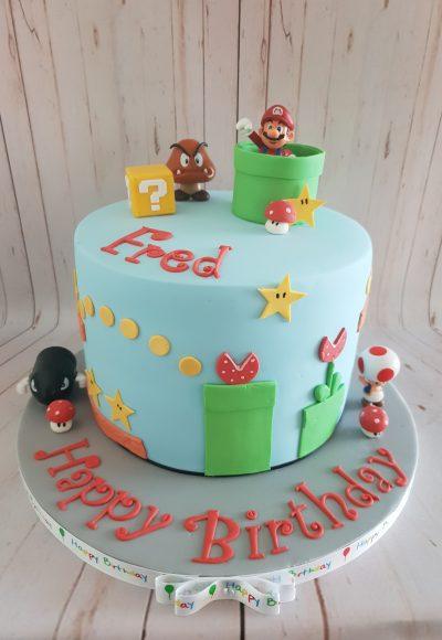 Super Mario Custom Cake Southampton