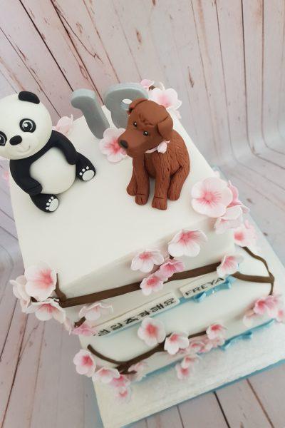Panda Anime Custom Cake Southampton