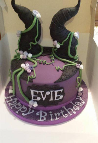 Evie Birthday Custom Cake Southampton