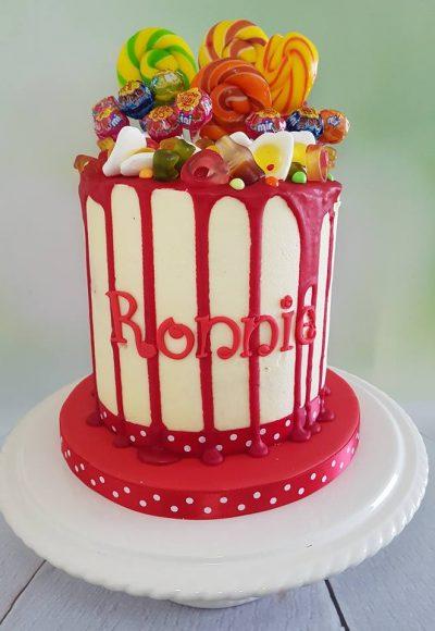 Chupa Chups Drizzle Custom Cake Southampton