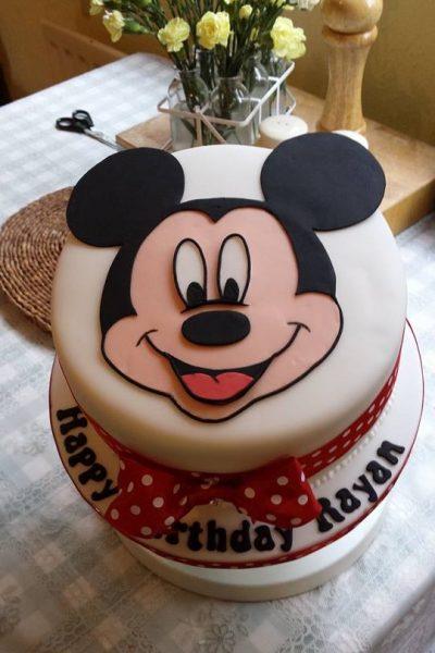 Mickey Mouse Custom Cake Southampton