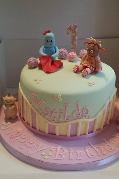 In The Night Garden Custom Cake Southampton