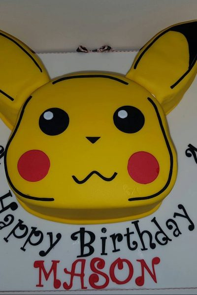 Pikachu Custom Cake Southampton