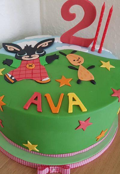 2nd Birthday Custom Cake Southampton