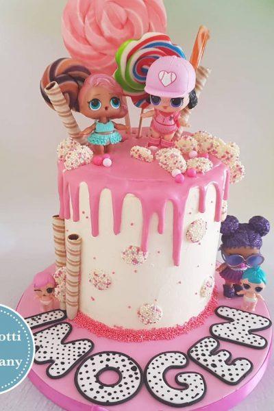 Pink Custom Cake Southampton