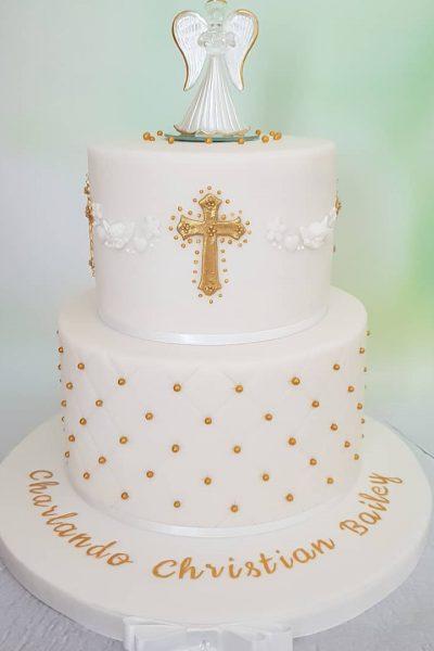 Christening Custom Cake Southampton