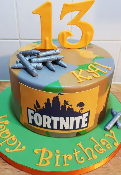 Fortnite Custom Cake Southampton