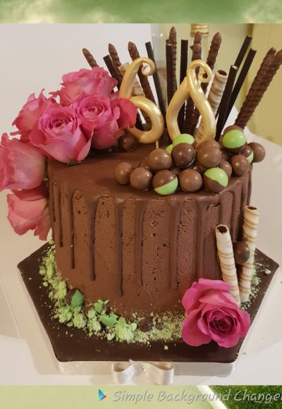 Chocolate Mousse Custom Cake Southampton