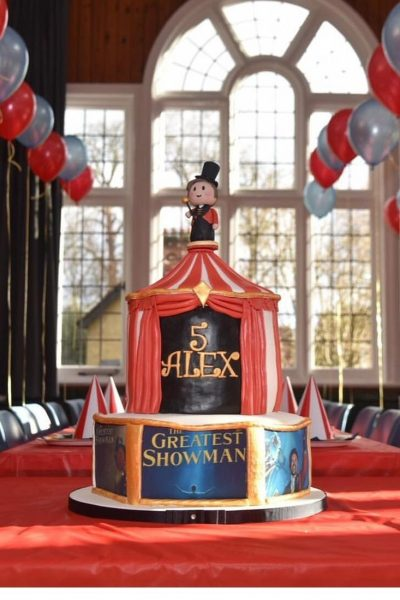 The Greatest Showman Custom Cake Southampton